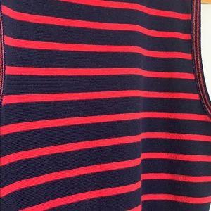 J. Crew Tops - J crew stripe sleeveless knit top